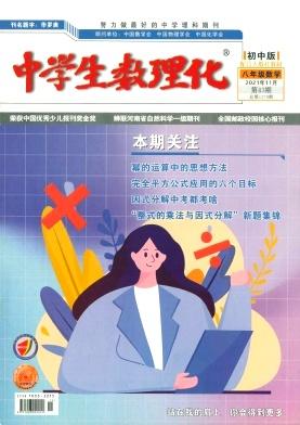 中学生数理化(八年级数学)(配合人教社教材)