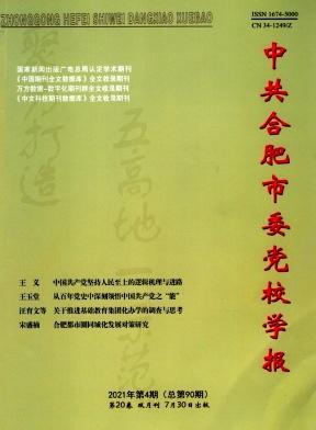 中共合肥市委党校学报